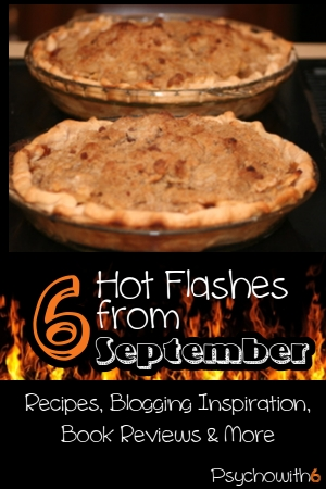 best apple pie recipe, great books, blogging inspiration