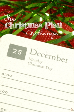 The Christmas Plan Challenge: Week 45
