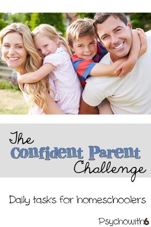 Week 8: The Confident Parent Challenge