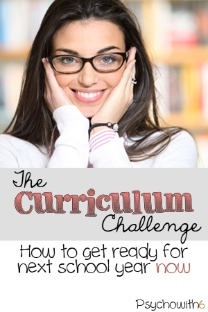 Week 16: The Curriculum Challenge