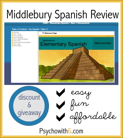 Elementary Homeschool Spanish: Middlebury Interactive Review