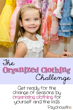 The Organized Clothing Challenge: Week 19