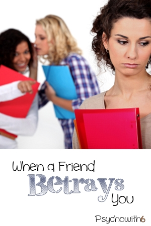 These steps can help you cope with a friend's betrayal.